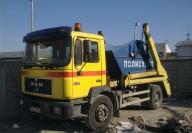Контейнер за извозване на строителни отпадъци